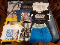 Great condition summer clothes bundle boys 9-10