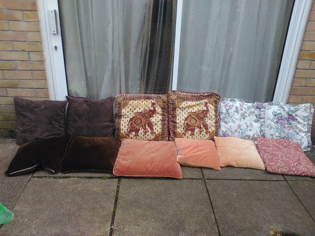 selection of cushions for sale all Going cheap