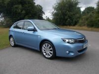 2010 60 SUBARU IMPREZA 1.5 RC 4X4 5 DOOR HATCHBACK IN LOVELY LIGHT METALLIC BLUE