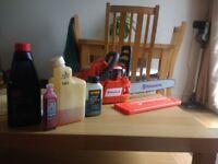 Husquarna petrol Chain Saw and kit