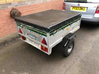 Daxara 126 Trailer with cover