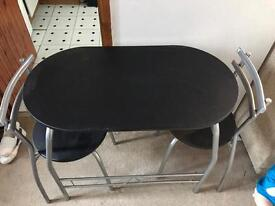 Black Space saver table