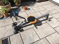 Bodyfit rower rowing machine