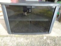 Tv/media cabinet in black