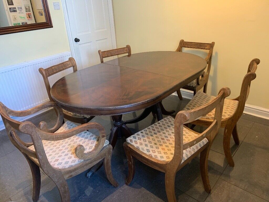 dining table and chairs 6 seater  in chester cheshire