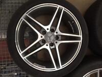 Genuine Mercedes Benz C63 AMG Wheels