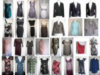 FOR RESALE - Bundle JOBLOT of 30 items (dresses, tops, jackets, coats) - Debenhams Lipsy M&S