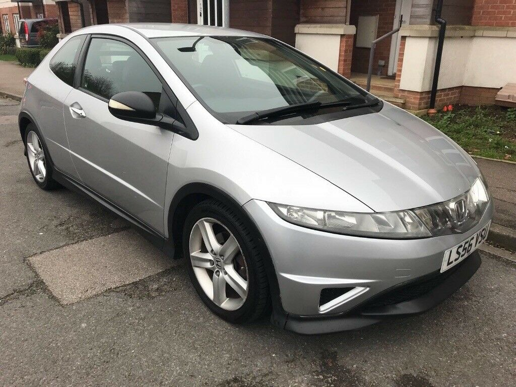 Average Mileage Hpi Clear 2007 Honda Civic Type S 6 Sd Gear Box 125000 Miles Full Service Done