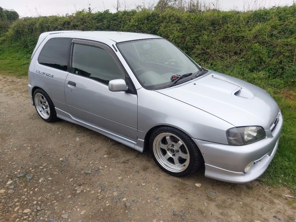 toyota starlet glanza turbo td04 in hayle cornwall. Black Bedroom Furniture Sets. Home Design Ideas