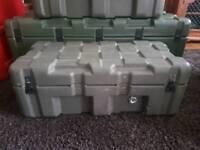 Hardigg PELI stackable case green
