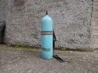 aluminium 12ltr scuba tank