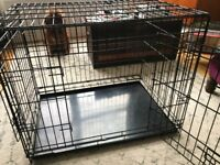 Dog crate - excellent condition, for small - medium size dogs