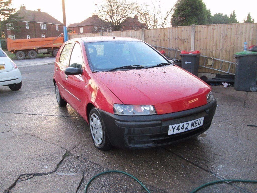 fiat punto 2 0 diesel 2001 red in kirkby in ashfield nottinghamshire gumtree. Black Bedroom Furniture Sets. Home Design Ideas
