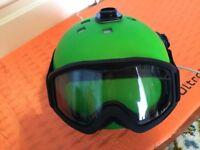 Salomon Beanie Convertible green ski helmet