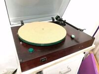 Manticore Mantra Turntable (Vintage British) with electtronic speed control