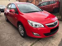 Vauxhall Astra 1.4 VVT 16v Exclusiv 5dr - 2010, 1 Lady Owner, 12 Months MOT, Service History, £3495