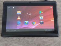 Android Tablet 7 inch screen,webcam,speaker,TF card slot 4 extra memory,headphone socket