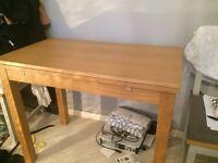 Extendable Oak Veneer Table - PERFECT Condition - IKEA - *Buyer Pick-Up*