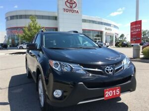 2015 Toyota RAV4 Limited - Toyota Certified Local Vehicle!