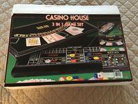 Casino - 3 in 1 Game Set