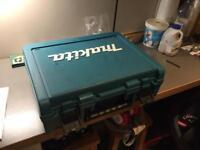 Makita combi drill empty box