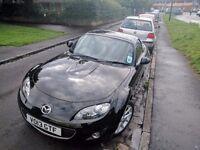 Black Mazda MX5, 2013, 34000 Miles, Nearly every extra