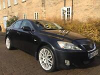 LEXUS IS 220 6 SPEED TURBO DIESEL FULL LEATHER INTERIOR FULL MOT IMMACULATE FIRST TO SEE WILL BUY