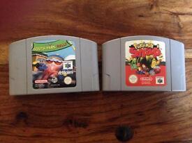 Nintendo 64 games x 2