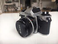 Nikon FM2N + Nikon Nikkor 50mm (1:1.8) lens