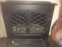 Burley Electric Stove Fire