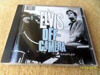 "Elvis ""Off camera"" Rca sampler cd"