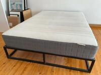 Double Bed Mattress & Frame