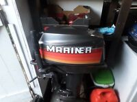 20 Mariner Boat Engine. Excellent condition.