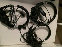 Jabra USB headset x3