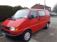 VW Transporter T4 2.5TDI 2001 Red Good Condition