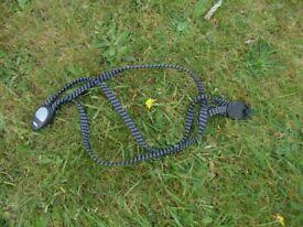 Bicycle paniers rack strap