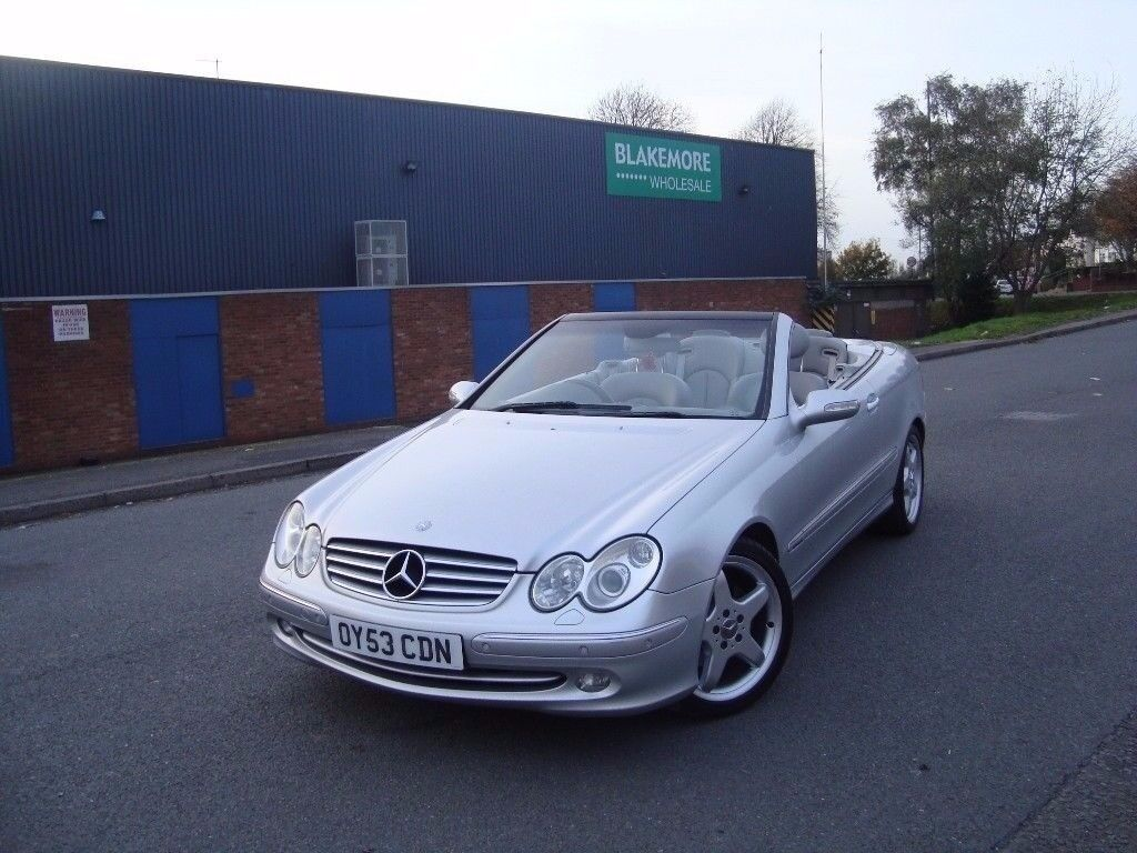 MERCEDES-BENZ CLK320 ELEGANCE AUTO CONVERTIBLE - ONLY 1 OWNER -FULL SERVICE -FREE