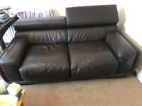 Instyle leather sofa(brown)