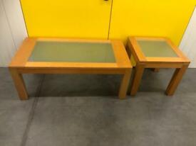 Marks & Spenser coffee table & side table Delivery Available 🚚.