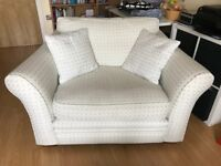 Snuggle love chair seat from Harveys