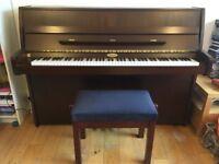 Beautiful Kemble Upright Piano & Adjustable Stool
