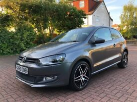 VW POLO 1.2L PETROL 2010 METALLIC GREY-IMMACULATE CONDITION-45K FROM NEW FIRST TO SEE WILL BUY