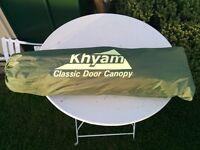 Khyam Classic Door Canopy for tent