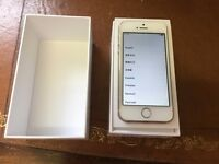 iPhone 5S 32gb white/gold O2/GiffGaff