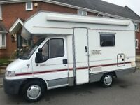 1998 R reg swift 4 birth Motorhome 1.9 TD 57,000miles fsh lots of extras