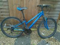 Unisex mountain bike 26 inch wheels 18 gears