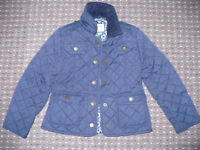 2x navy blue jacket Jasper Conran for slim girl 6-7 years. Good condition. Good for school.