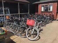 Dutch bikes MTBs town bikes city bikes road bikes racers
