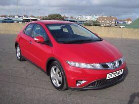 Honda Civic 2.2 i-CTDi SE Hatchback 5dr Diesel 6 speed very nice car