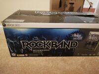 Rockband drum kit for xbox 360